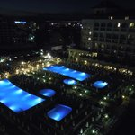Junior Suite view - by night