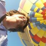 my wonderful day with rainbow Ryders hot air balloon Phoenix Arizona