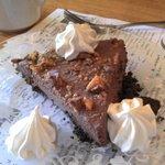 Chocolatey Butterfinger Pie.