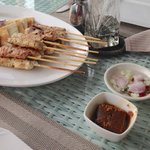 Chicken Satay - rather disappointing