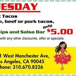 Taco Tuesday Offer!