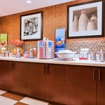 Enjoy our On the House hot breakfast each morning in our Perfect Mix Lobby.