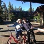 Free bicycle rentals