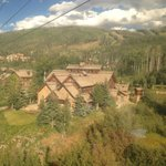 Mountain Lodge from Gondola