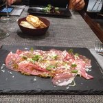 Carpaccio of Iberia ham