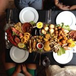 Wow 21 different tapas ��