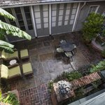 Bird's Eye Private Courtyard View