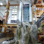 Smoky Mountain Knife Works Indoor Waterfall