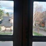 Vista desde la ventana de la habitación