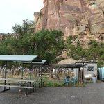 Parkplatz der McConkie Ranch