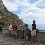 Viewing Isolabella (Beautiful island) and the Messina coast line