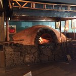 Oven fired pizza