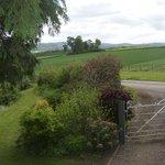 View to Hay Bluff, from garden gates