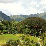Beautiful clear day in Kaneohe