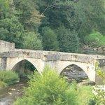 vieux pont sur la vézère