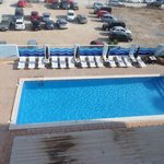 View of one of the pools from room 302