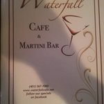Waterfall Cafe & Martini Bar