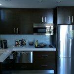 Sala com cozinha americana