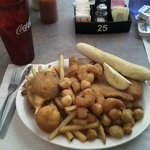 Fried Seafood Dinner