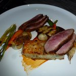 Roasted Duck Breast in BBQ Plum Sauce