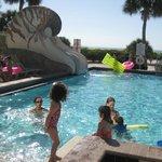 Pool & Shell Slide