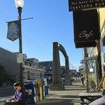 Cafe Stephanie- near enterence to nye beach in Newport, Oregon