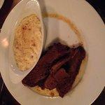 Juicy beef brisket, yum!