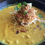 Tasty yellow curry noodles