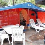 Canvas Holidays tent