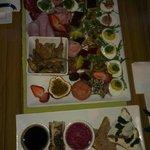 Our custom GF gourmet platter!
