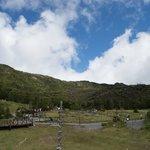 北八ヶ岳ロープウェイ 山頂駅展望デッキから坪庭方面の眺望