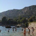 Paleokastritsa - La Grotta beach