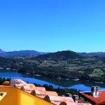 Vista del Lago di Suviana