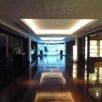 side of lobby
