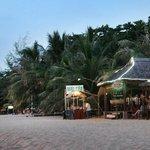 Restaurant on the beach side