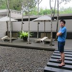 The spa reception area