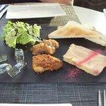 Assiette de foie gras en deux façons... un régal!