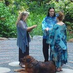 vow renewal on the labyrinth