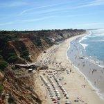 grande plage près de l'hôtel