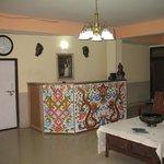 reception area..