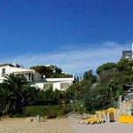 H TOP Caleta Palace - вид с пляжа