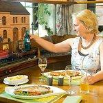 Getränkeservice per Modelleisenbahn