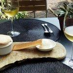 Soufflé and delicious Sauternes