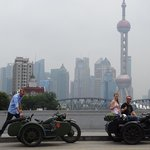 Brillant side-car experience in Shanghai
