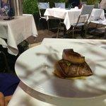 Thon et foie gras. Audacieux!