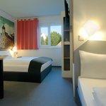 B&B Hotel Oldenburg - Familienzimmer für 3 Personen