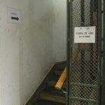 Escalier de la honte pour un 4 etoiles
