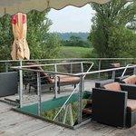 An Deck, Blick zum Golfplatz