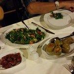 Dinner at Aravan Evi Restaurant