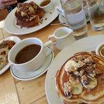 Il paradiso. .. buonissima breakfast  Newyorkese